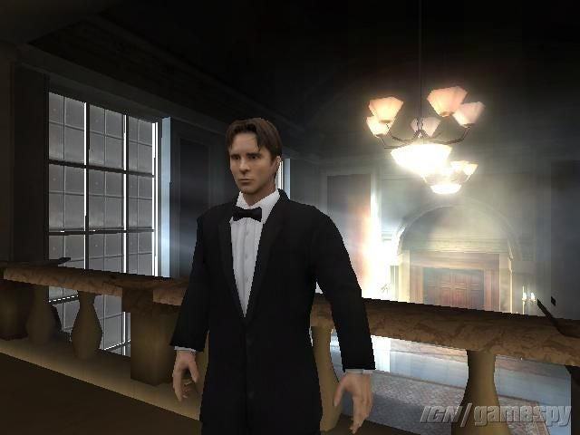 'Batman Begins' video game: Christian Bale screenshot