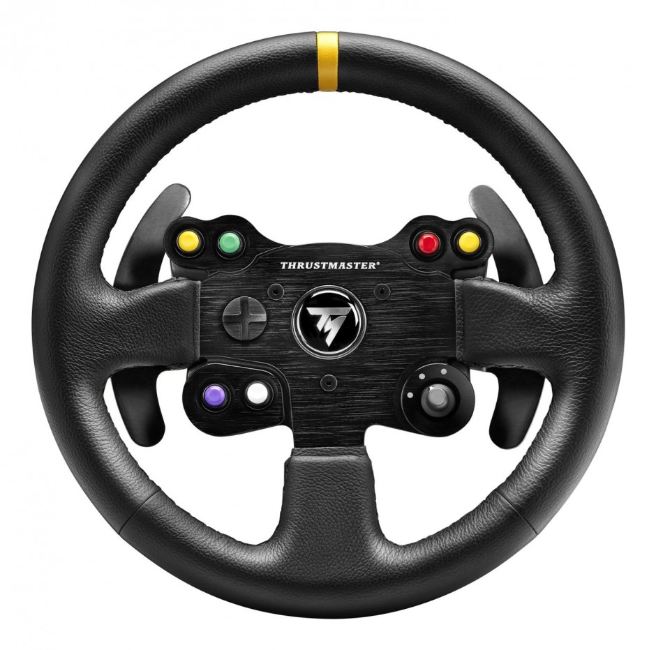 Thrustmaster Leather 28 GT Wheel Add On Review Xbox One Racing Wheel Pro