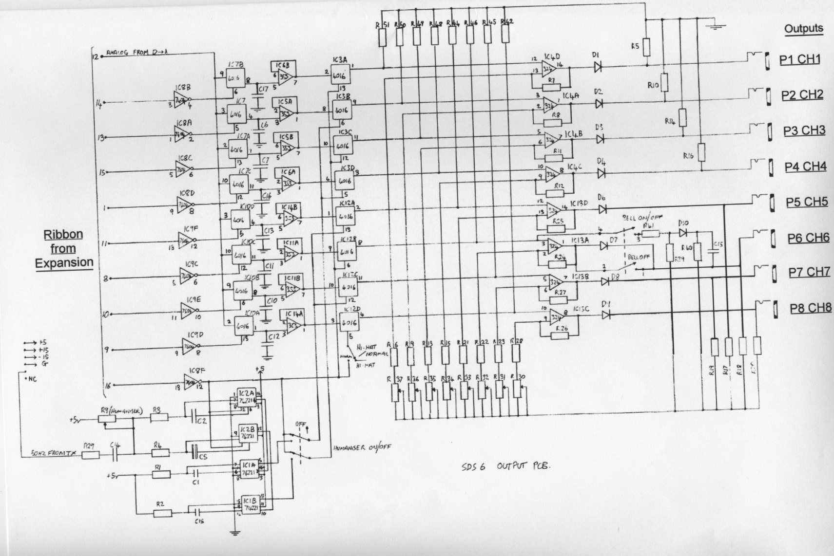 Simmons Sds 6 Schematics