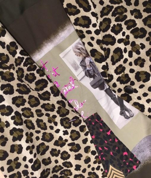 Geisha winter luipaard meisje