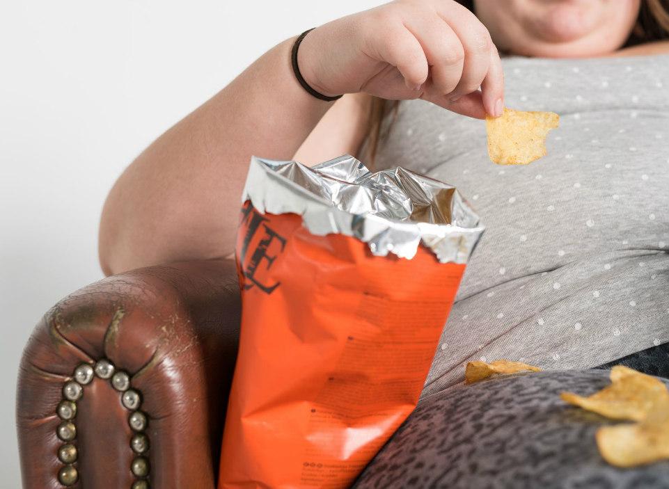 chips eten op bank