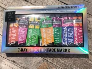 Action 7-days face masks set