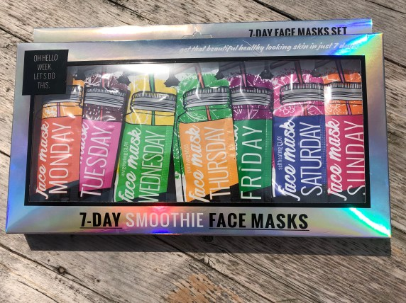 Action 7-days face masks set
