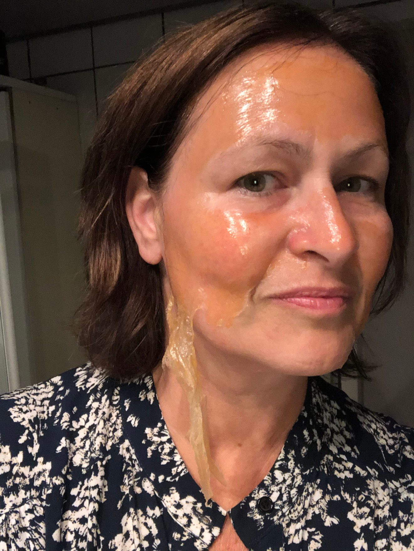 maandag peel off mask