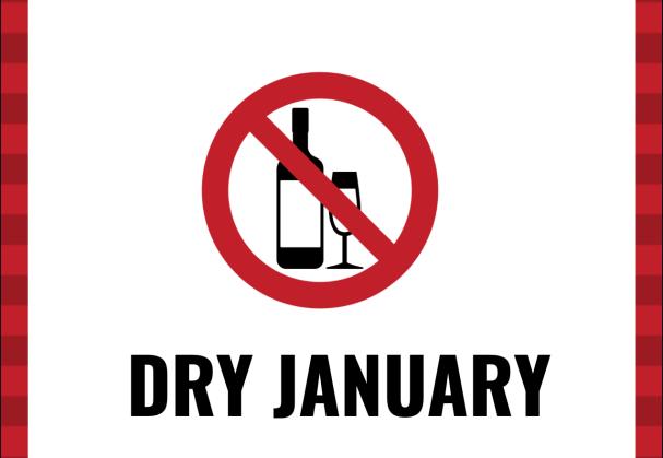 Dry January stopbord