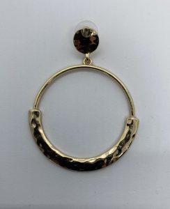 gouden ring met grovere onderhelft