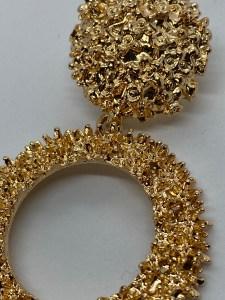 grove gouden oorringen