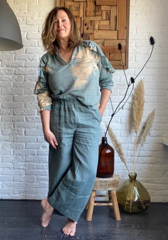 By-Bar broek en Yaya blouse