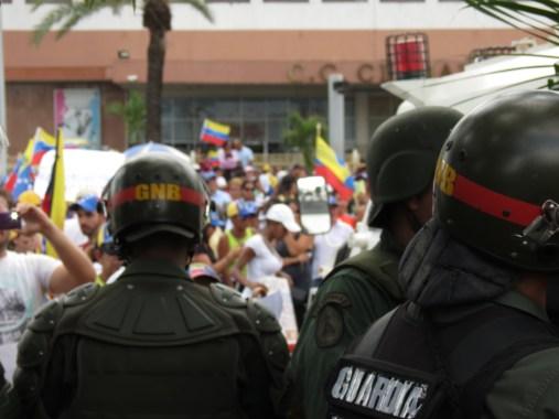 Plaza CVG Monumental, Puerto Ordaz, 22-03-2014.