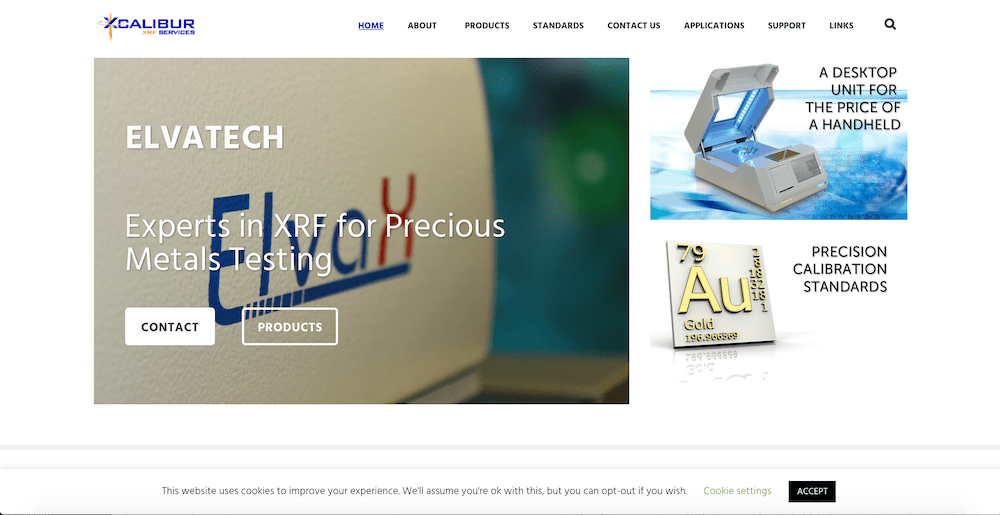 Xcalibur XRF Services Launches A New Website