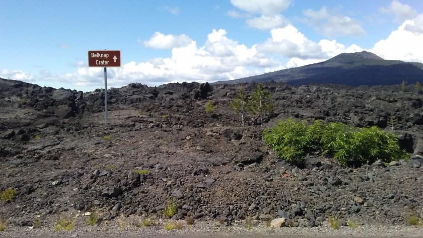 Belknap Lava Field