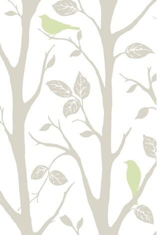 Buy Nuwalls Sitting Tree Self Adhesive Wallpaper From Next Ireland