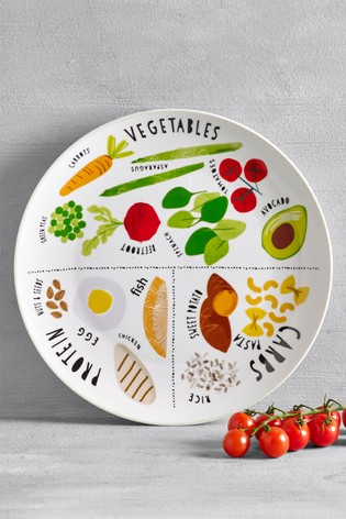 Buy Portion Control Plate from the Next UK online shop