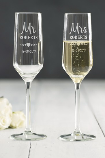 personalised mr and mrs