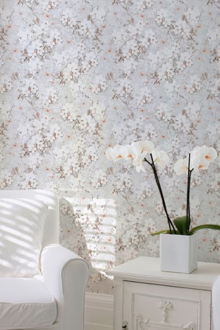 Buy Spring Blossom Floral Wallpaper By Lipsy From The Next Uk Online Shop