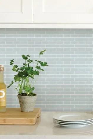 wall pops sea glass backsplash tiles