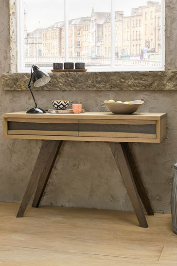 Buy Cadell Console Table With Drawers By Bentley Designs From The Next Uk Online Shop
