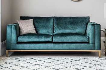 tartan chesterfield sofa traditional rolled arm fabric sofas variety of colour available next uk treyfrod bed by hudson living