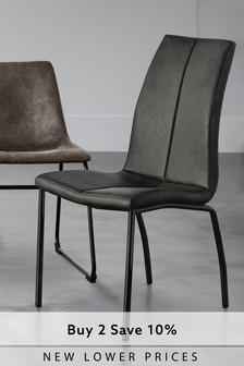 dining chairs uk round back room leather fabric next set of 2 opus