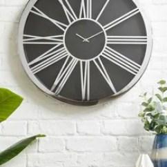 Living Room Clocks Next Modern Wall Decor Mantle Official Site Xl Roman Numeral Clock