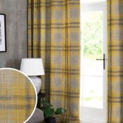 Patterned Curtains For Living Room Pictures Of Light Grey Rooms Eyelet Blackout Next Official Site Astley Check Lined