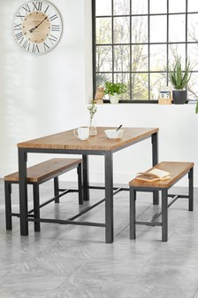 kitchen table with bench and chairs appliances brooklyn dining room furniture sets next official site ellison set