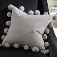 Sofa Pads Uk Purple Velvet Sale Cushions Scatter Large Next Pom Edge Cushion