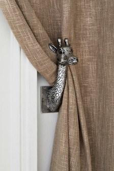 curtain holdbacks metal holdbacks