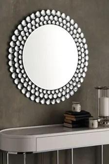 wall mounted mirrors wall