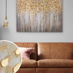Next Home Living Room Accessories With 2 Couches Facing Each Other Decorative Wall Art Candles Official Site Gold Birch Trees Large Canvas