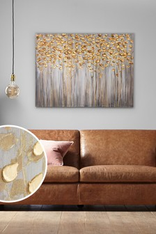 modern artwork for living room cheap wall decorations art decorative accessories next official site gold birch trees large canvas