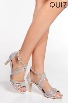 quiz sandals womens gladiator