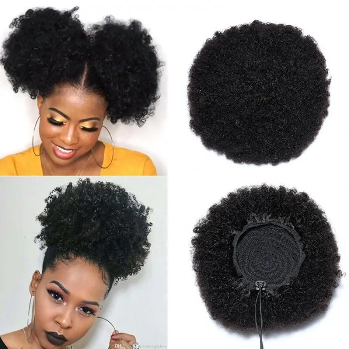 Unice Short Curly Afro Wigs Natural Black African American Afro