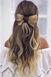 easy chrismas hairstyles