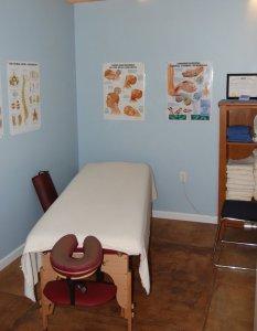 Xcell Medical Elyria interior massage room