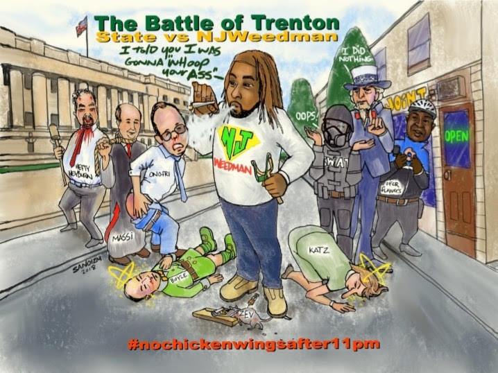 The Battle of Trenton: State vs. NJWeedman