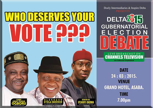 Win VIP Tickets to Delta State Gubernatorial Debate