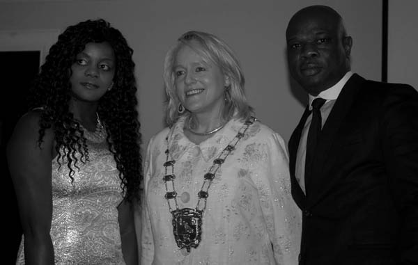 Angela Unufe-Kennedy (Founder of Migrant Disability Network, Mags Murray, (Mayor of Fingal County Council) and Kenny Eguakhide, (Writer/Producer of Not a Freak)