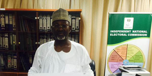 The INEC Chairman Attahiru Jega