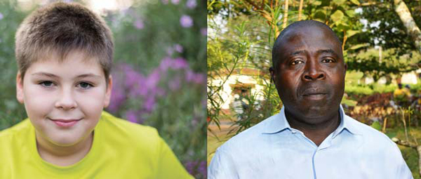 13-year-old Skyler Turnquist and 51-year-old Nigerian Ezekiel Akpu-nku
