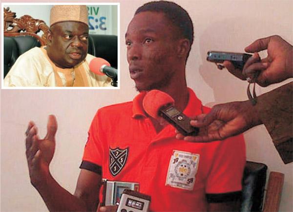 Fejiro Oliver INSET: Governor Babangida Aliyu