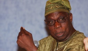 Former President Olusegun Obasanjo, sacked Vincent Azie then acting Auditor-General of the Federation