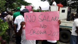 Delta State Chapter of the Nigeria Union of Local Government Employees, NULGE, Knocks Okowa Over Unpaid Salary Arrears