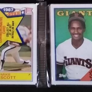 Topps vintage baseball cards