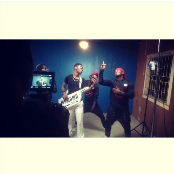 BTS - Okey Sokay - Aka Video Shoot (17)