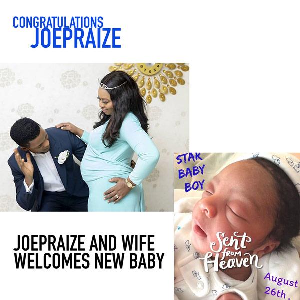 joepraize welcomes baby boy