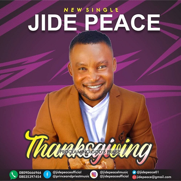 Thanksgiving – Jide Peace