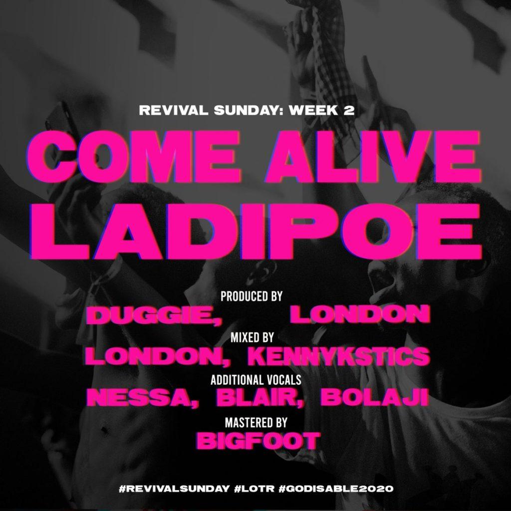 Ladipoe Come Alive