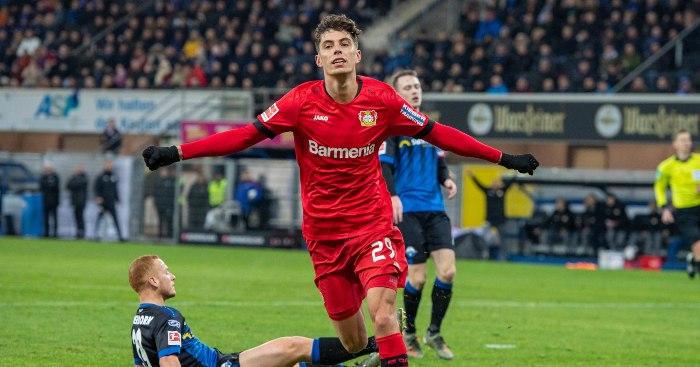 Kai Havertz Bayer Leverkusen1