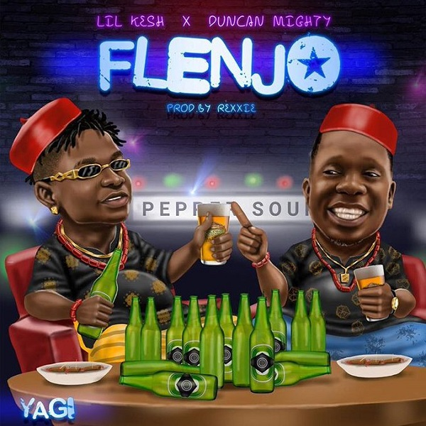 Lil Kesh Flenjo Artwork